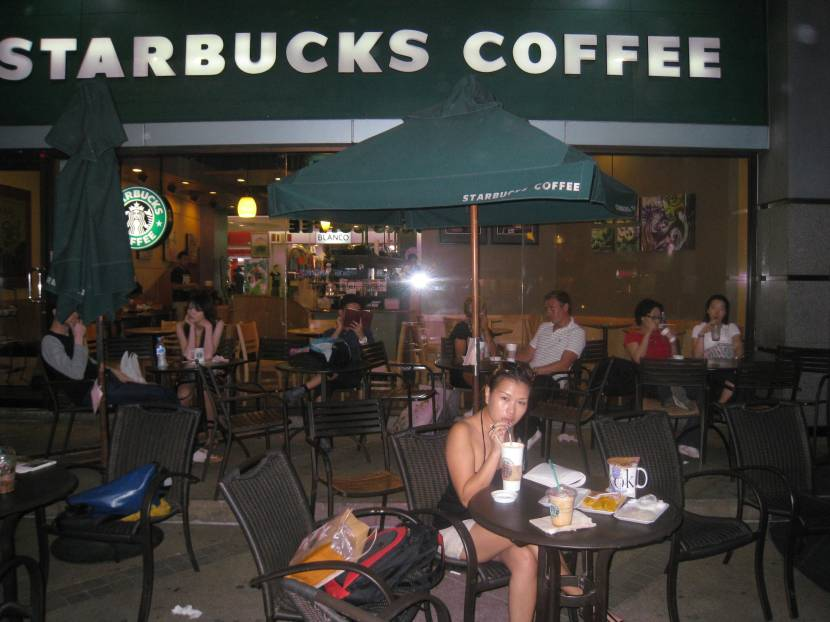 Starbucks in Bangkok
