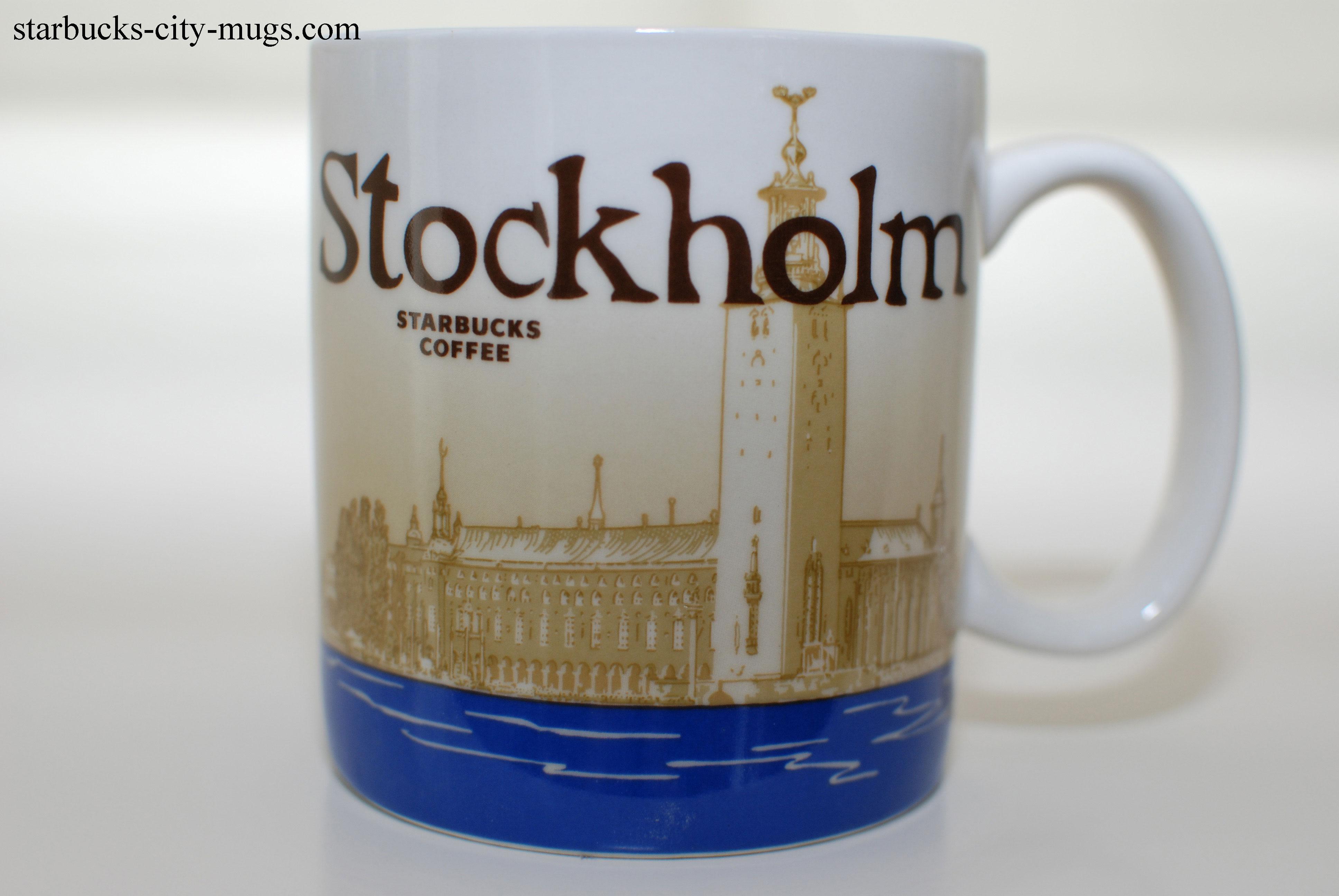 stockholm starbucks city mugs. Black Bedroom Furniture Sets. Home Design Ideas
