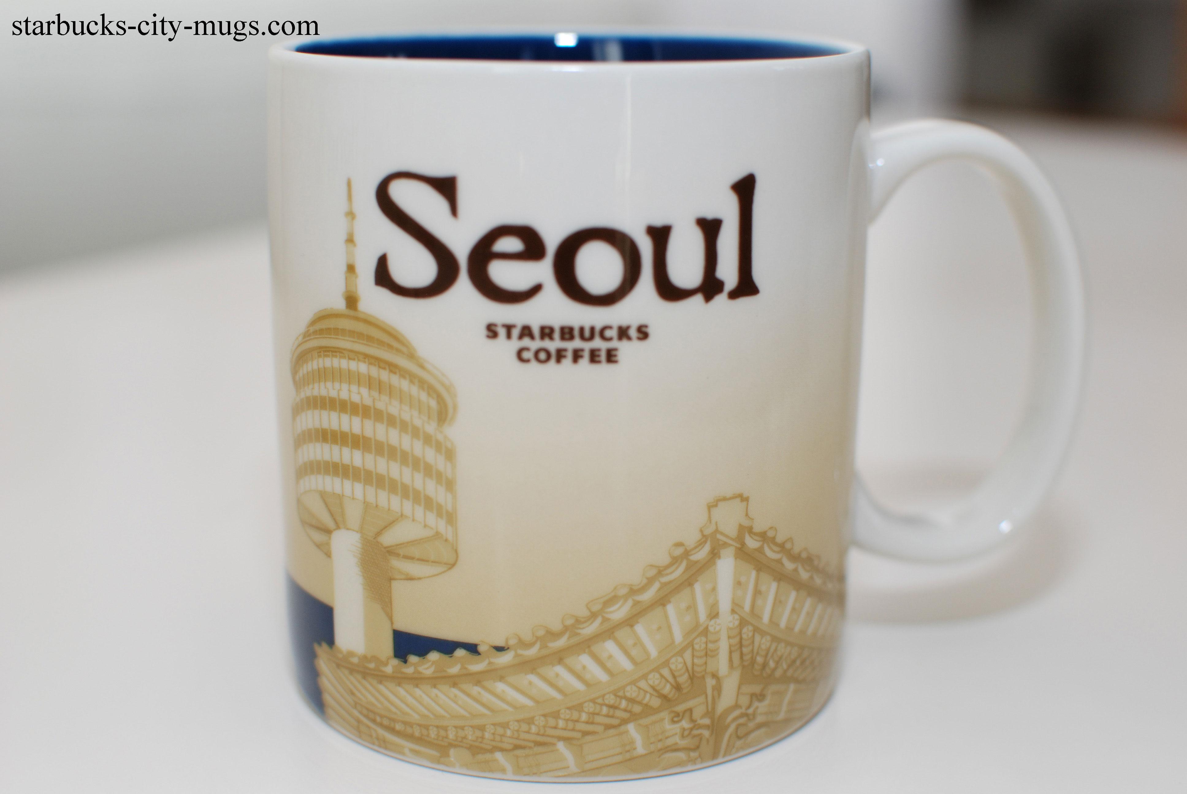 Mini Of San Francisco >> Seoul | Starbucks City Mugs