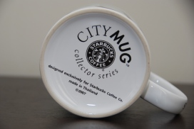 City Mug Collector Series 2007-Taiwan