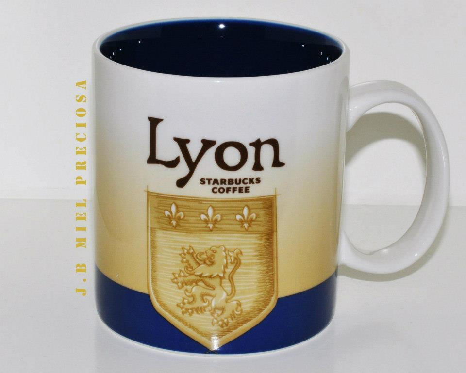 lyon starbucks city mugs. Black Bedroom Furniture Sets. Home Design Ideas