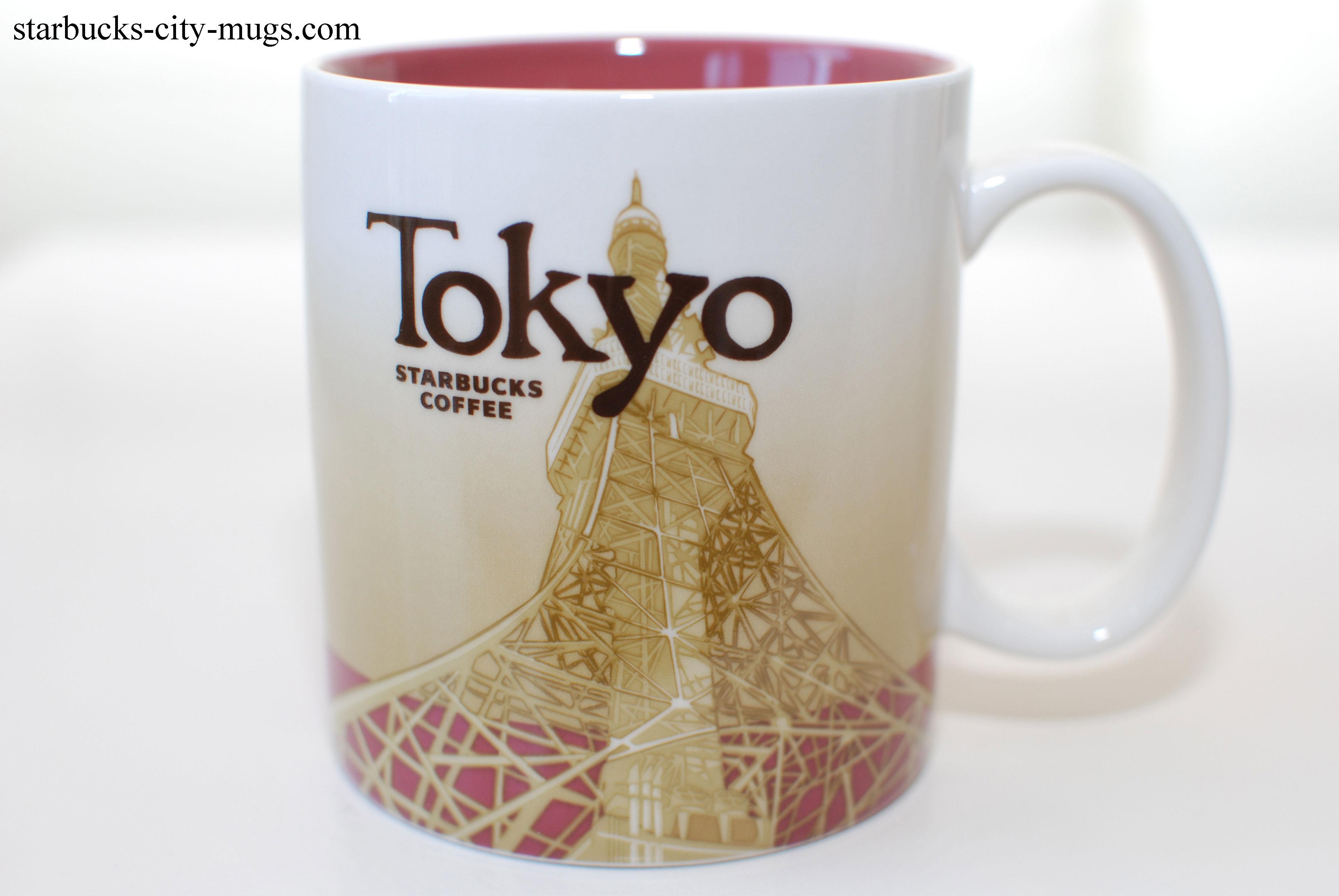 Cute Coffee Mugs Tokyo Starbucks City Mugs