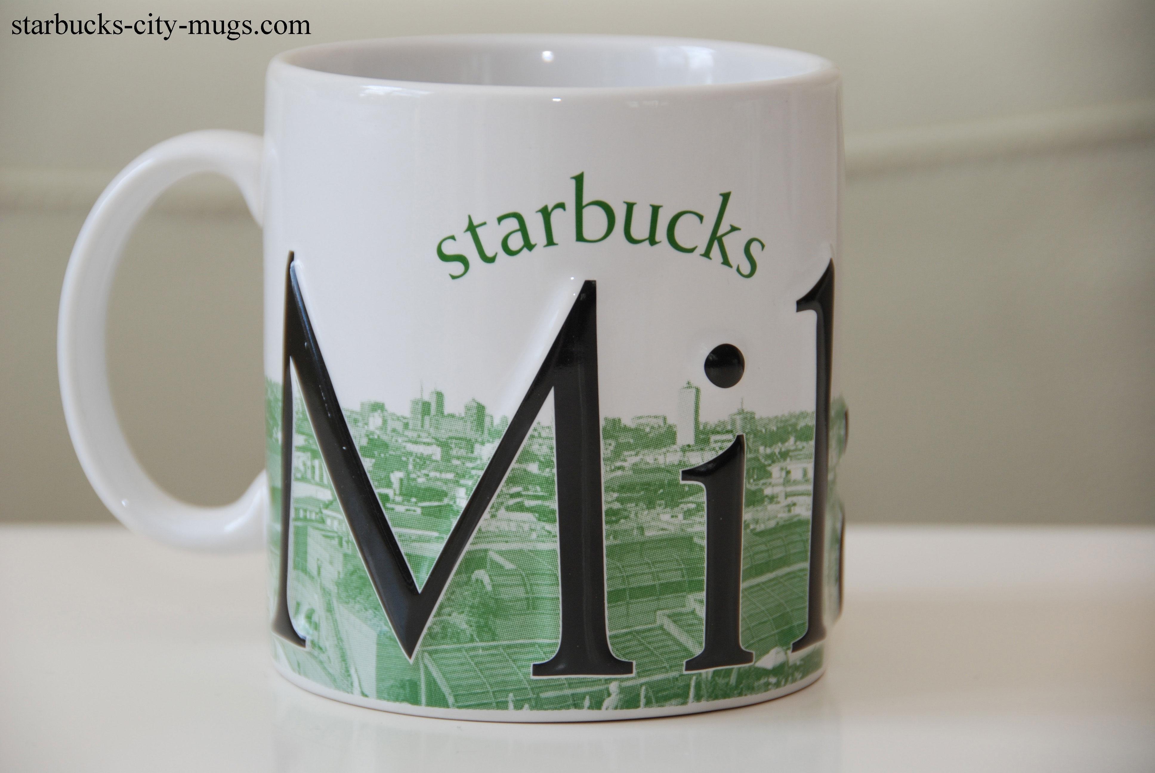 Milano starbucks city mugs for Starbucks italie