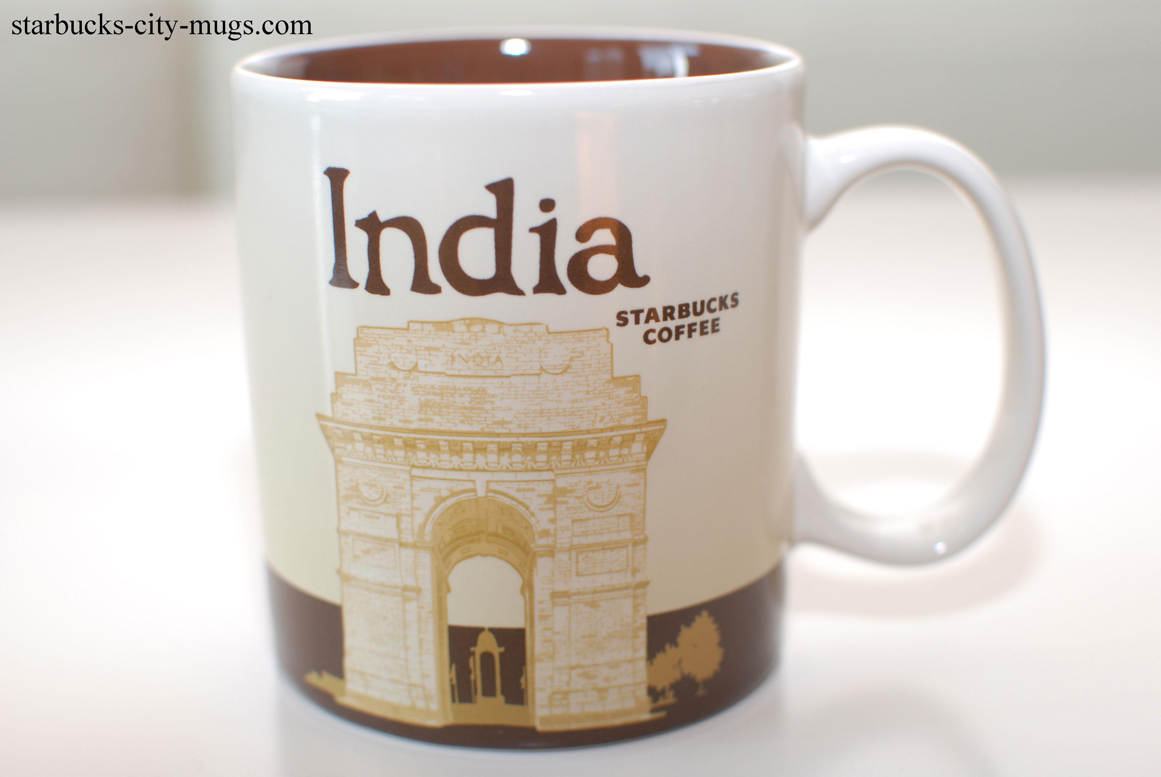 INDIA | Starbucks City Mugs