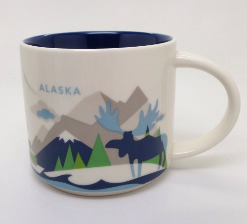 Alaska Starbucks City Mugs