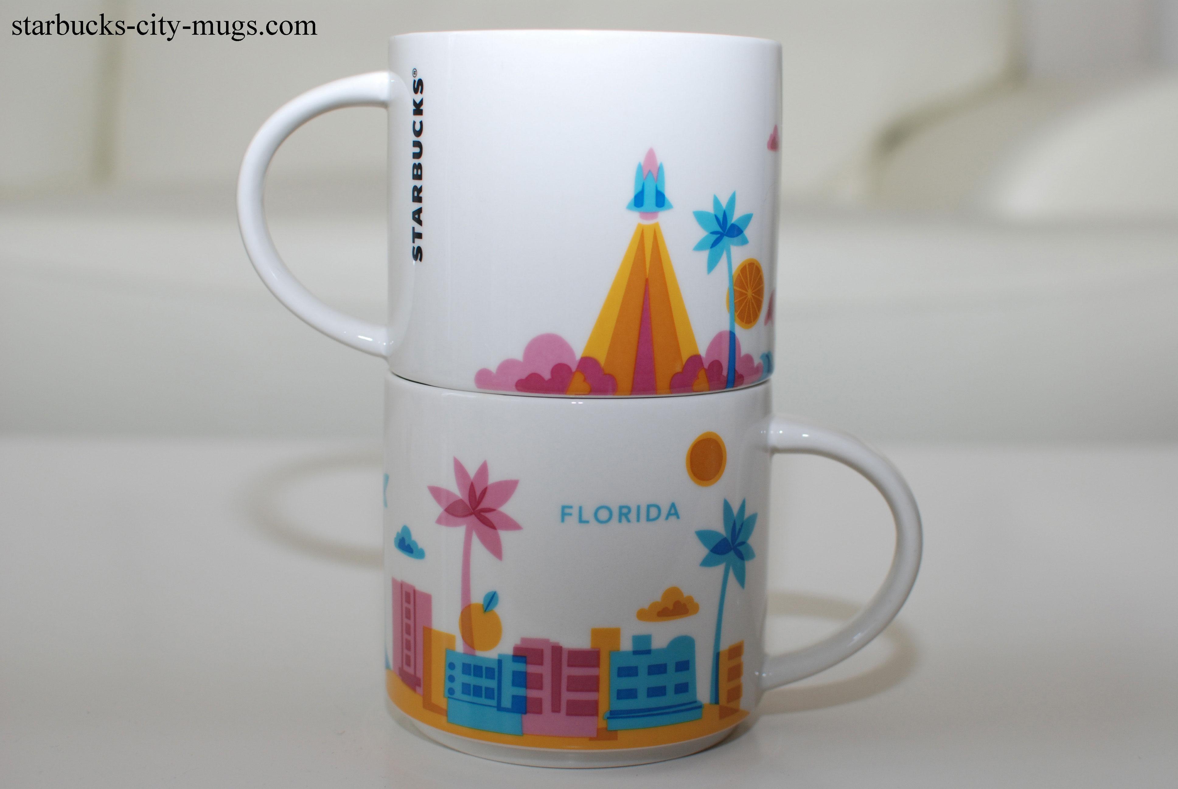 Florida Ornament Starbucks City Mugs
