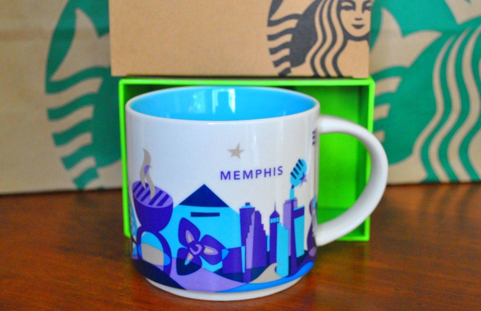 Memphis Starbucks City Mugs