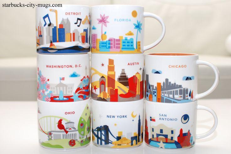 Image Result For Starbucks City Mugs List