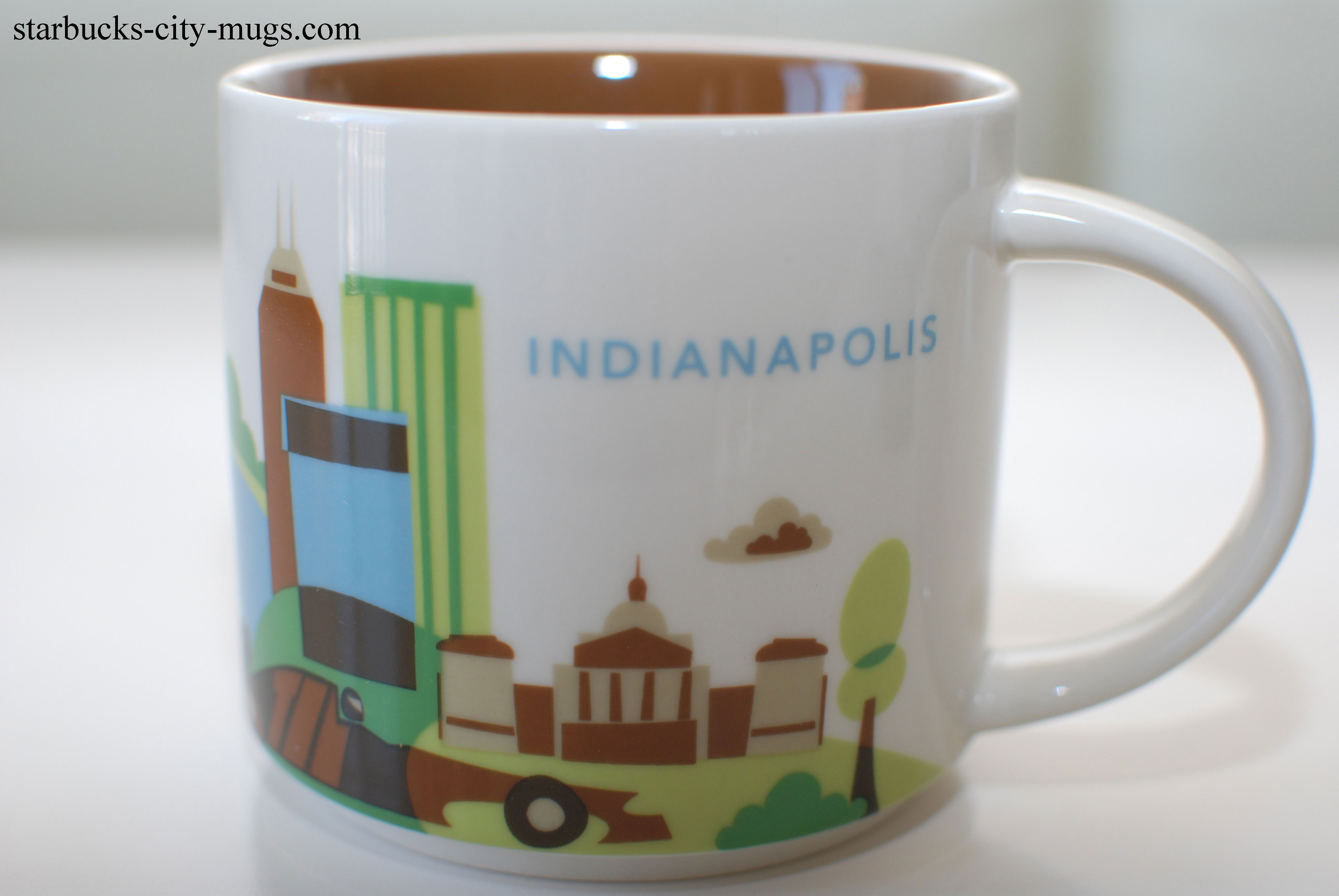 Indianapolis Starbucks City Mugs