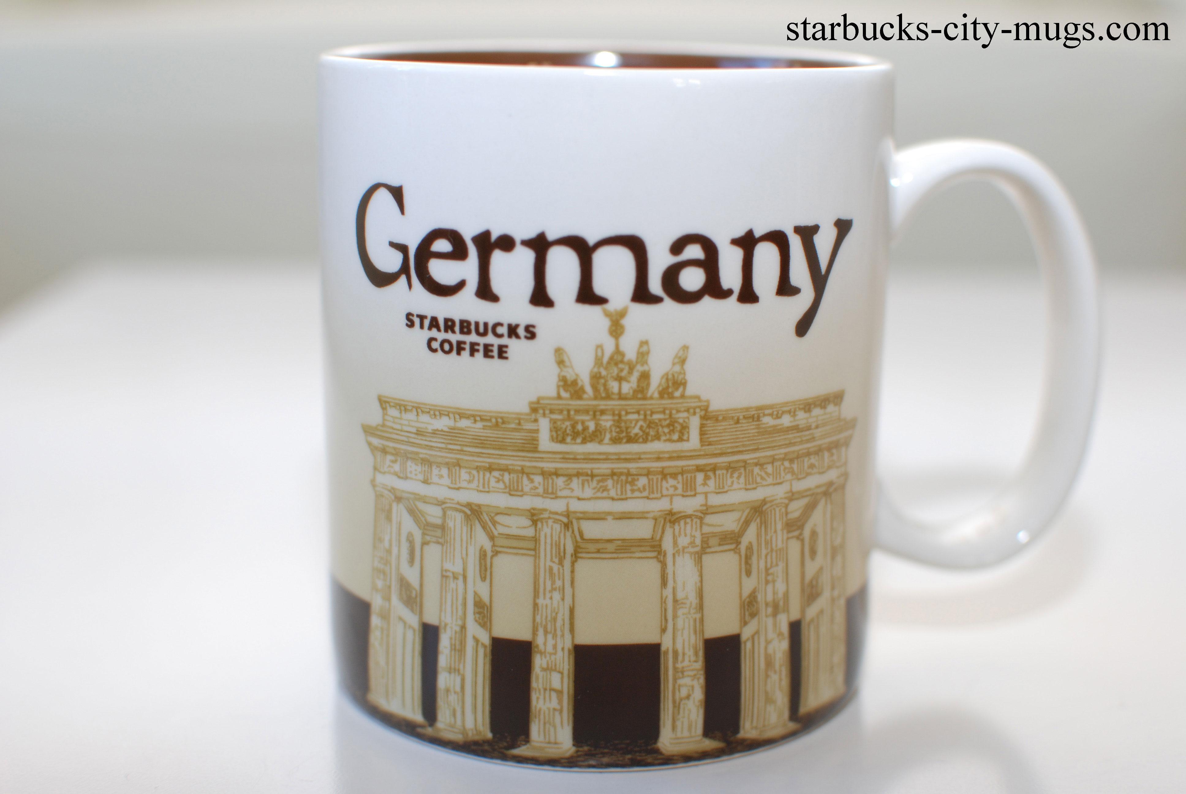 germany starbucks city mugs. Black Bedroom Furniture Sets. Home Design Ideas