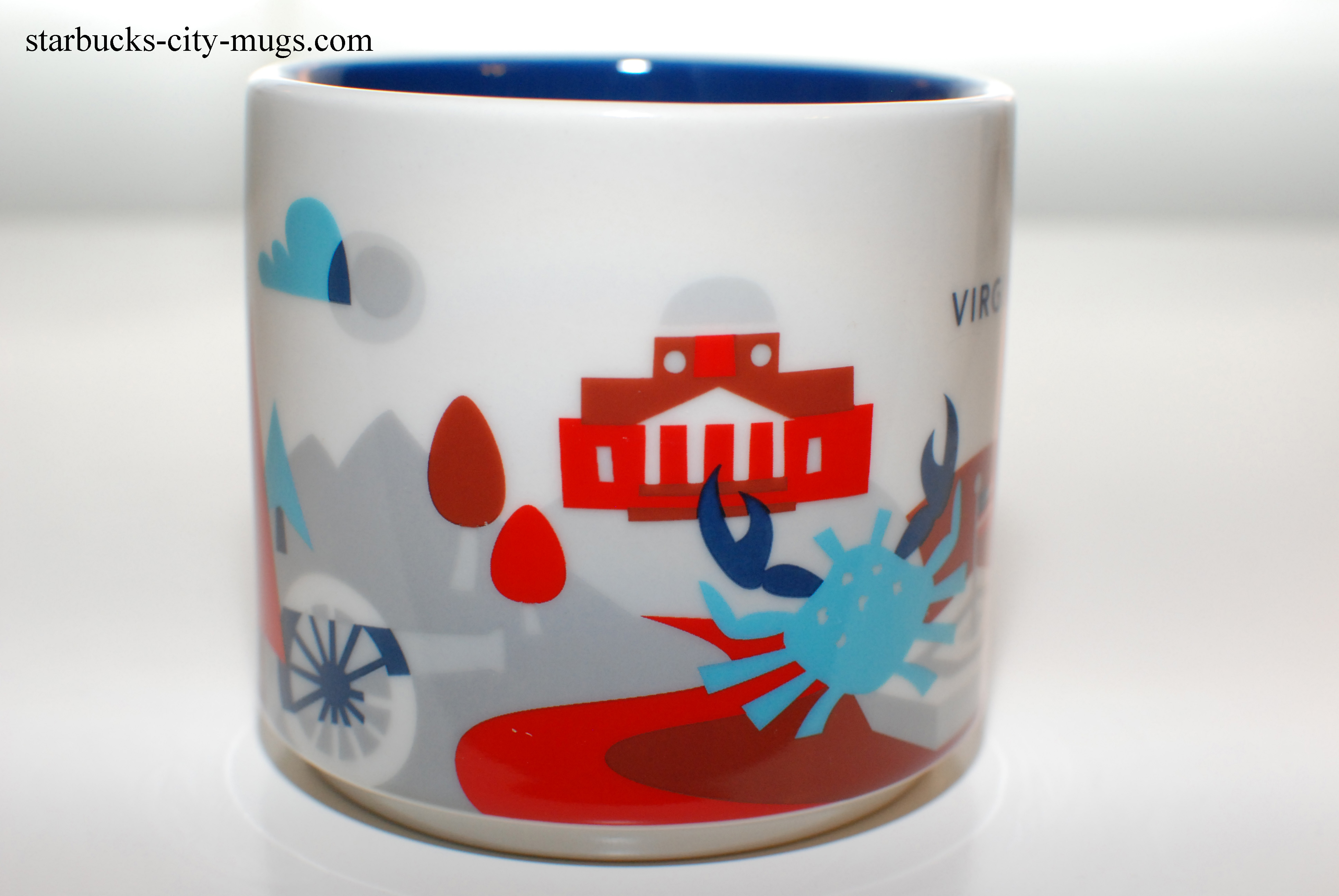 virginia ornament starbucks city mugs. Black Bedroom Furniture Sets. Home Design Ideas