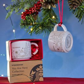 california christmas ornament