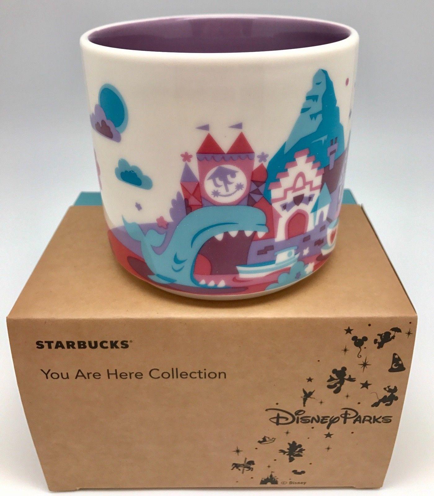 Disneyland 1 Amp 2 Starbucks City Mugs