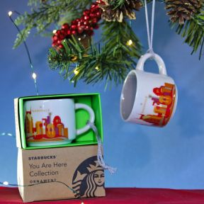 Nashville Ornament Starbucks City Mugs