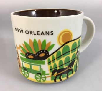 You Are Here Usa Starbucks City Mugs